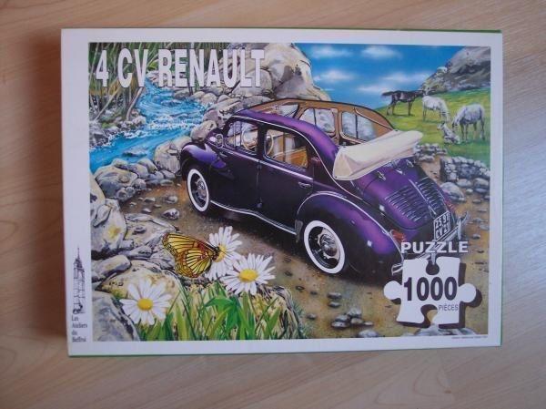 Puzzle Renault 4cv