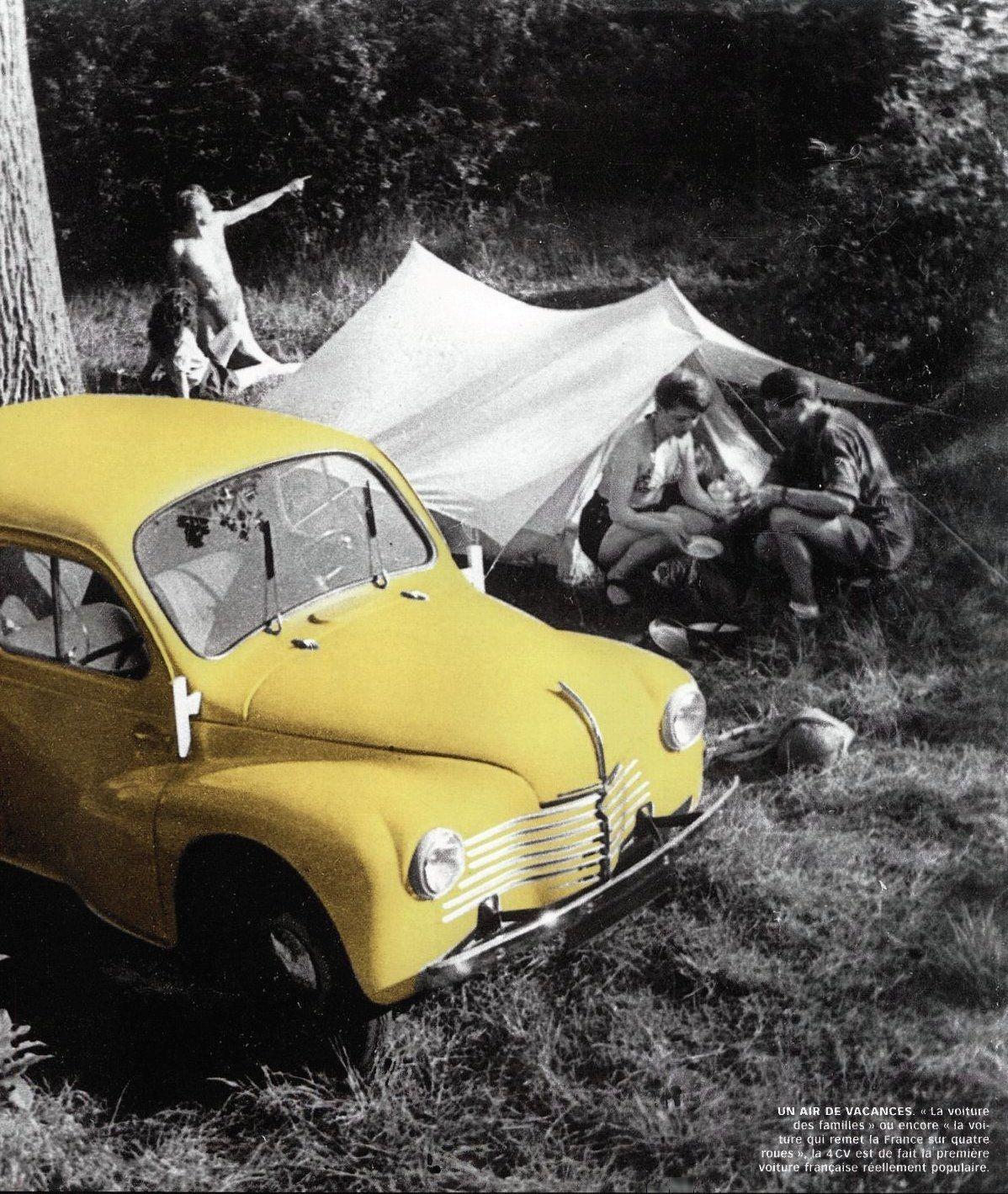 Un pique-nique en Renault 4cv